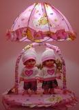 Lampe de table de poupée (T-380)