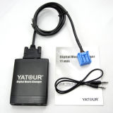 Yatour Digital coche Cargador de CD (YT-M06) -La interfaz USB SD Adaptador de Aux.