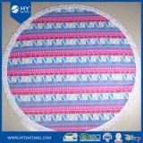Toallas de playa redondas de la materia textil casera