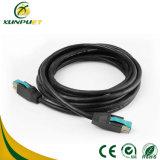 Wasserdichtes Nickel überzog 4 das Pin-Energie USB-Daten-Kabel