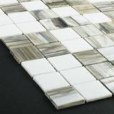 Mosaico di vetro macchiato dei materiali da costruzione delle mattonelle di pavimento del taglio della mano di DIY