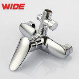 Chrome Baignoire Douche ensemble robinet Big Pomme de douche de pluie+ Main robinet mélangeur de pulvérisation