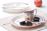 """100%년 멜라민 Tableware - """"프랑스 Bear """" Series Melamine Spoon와 Fork (FB503S)"""