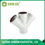 Raccords de tuyaux de drainage coude en PVC avec douille