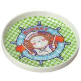 Het Vaatwerk van de Melamine van 100% - het Stootkussen van Tablewarecup van het Jonge geitje/het Vaatwerk van de Melamine van de Rang van de Onderlegger voor glazen/van het Voedsel (BG027)