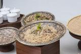 최신 판매 음식 급료 멜라민 나무로 되는 곡물 큰 접시