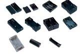 PP ou en plastique ABS noir Support batterie AAA