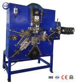 Curvatura mecânica do fio da correia que faz a máquina