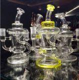 A brilhar populares Design grossista fumar Tubo de água de vidro