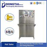 Semi-automatique de deux chefs 5L'huile de cuisson/remplissage de la machine de remplissage