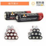 極度の頑丈な電池AA R6p 1.5Vの乾燥したセル
