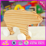 Novo Design 2016 bebê urso de madeira brinquedos W05b152