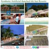 De synthetische Palm met stro bedekt Kunstmatig met stro bedekt voor Toevlucht 7 van de Glans van de Staaf van Tiki van de Hut Tiki