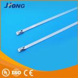 Cinta plástica ajustável do aço inoxidável do fechamento do baixo preço