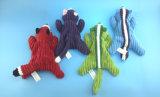 Brinquedo Não-Enchido da jaritataca para os animais de estimação que mordem com quatro cores