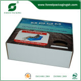 Caja de cartón acanalado impresa color (FP11030)