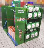 Four-Sided Картонный поддон дисплей с полок и крюки для спортивных товаров