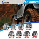 Camiones y autobuses Neumáticos radiales, neumáticos de caucho (10.00R20 11.00R20 12.00R20 12.00R24)