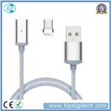 Зазор Распродажа! ! ! Универсальный нейлоновой оплеткой магнитный USB-кабель передача данных с несколькими зарядное устройство для типа-C