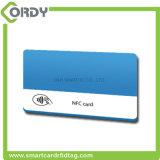13.56MHz de plastic slimme kaart NTAG213 NFC van pvc RFID van de compensatiedruk