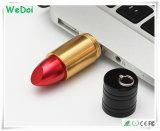 Venda quente Batom disco flash USB com o logotipo personalizado (WY-M84)