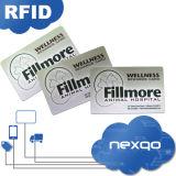 표준 크기 PVC 플라스틱 선물 카드를 인쇄하는 최신 판매 4 색깔 오프셋