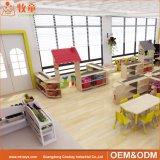 Berçário Creche Kids Madeira contraplacada ou conjunto de móveis para salas de aula pré-escolar