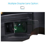óculos de proteção video de Fpv do quadrilátero de 5.8GHz Flysight RC com HDMI