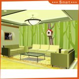 Pintura al óleo de madera de Witn Unframe DIY de la casa ideal