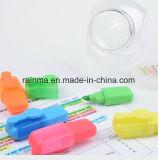 Jeux multi de crayon lecteur de barre de mise en valeur de couleur de qualité de papeterie en gros d'école