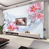 Fabrik-Preis-kundenspezifische Qualitäts-wasserdichte haltbare Tapete für Hotel