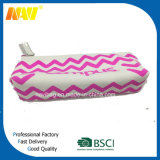 China Top Fournisseur Canvas Wave Printing Pencil Bag