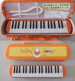 37 Teclas Melodica Cartoon caso