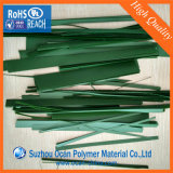 Película de PVC de color verde de árboles de navidad artificial&deja