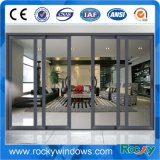 Китайская раздвижная дверь алюминия верхнего качества