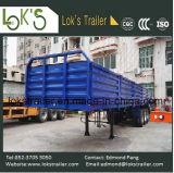 40 3 pés de reboque murado 5-Compartment da carga dos eixos Semi