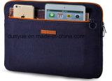 주문 크기 젊음 디자인 화포 자수 삽화 휴대용 퍼스널 컴퓨터 케이스 부대는, 실제적인 공장 보호한 모피 안대기를 가진 휴대용 퍼스널 컴퓨터 소매를 만든다