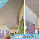 Akustische Faser-Panel-Wand-Baumaterial-Decke