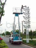 Mâts de levage en aluminium double pour le travail de l'antenne pour 6 m