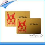 Cartão do PVC do preço de fábrica, cartão plástico, smart card, cartão do presente, cartão