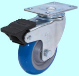 Chasse filetée d'unité centrale de cheminée avec le frein duel (bleu)