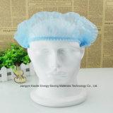 Mit Gummizug Pöbel-Klipp-Haarnetz-Wegwerfschutzkappe für medizinisches Kxt-Nwc07
