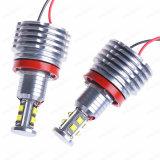 LED車の自動天使はBMW E90 E91 E92のための軽い2*80W 1300lm 6000K H8を注目する