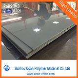 불투명한 높은 광택 있는 회색 색깔 찬 구부리기를 위한 단단한 플라스틱 엄밀한 PVC 장