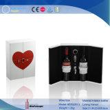 Nouveau design Fashion cuir synthétique vin double emballage (5592R13)