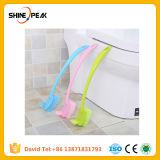 Cepillos plásticos del tocador del suelo del cuarto de baño del cepillo de suelo de la maneta