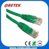 Os patch cables UTP Cat 5e cabo de alimentação