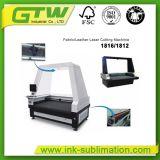 Tela/Cuero Máquina de corte láser automático con una alta velocidad 1800*1600