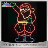 Populäre Weihnachtsweihnachtsmann-Dekoration-Lichter des Feiertags-LED