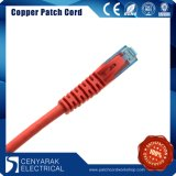 Cable de cobre trenzado CAT6 Patchcord de la red del PVC